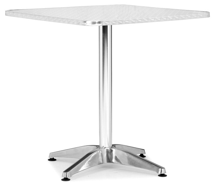 Christabel Square Table, Silver