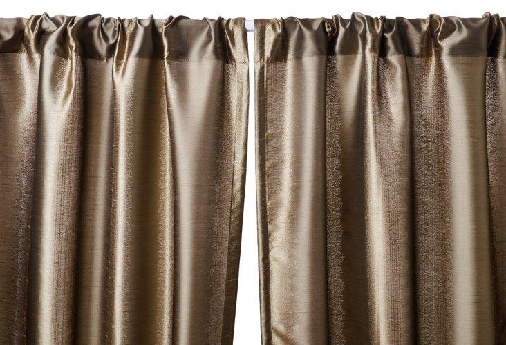 Dream Curtain Panel, Latte