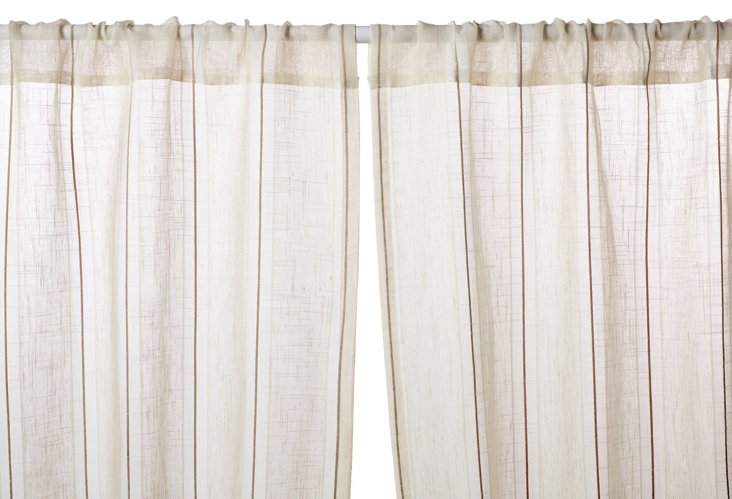 Sandridge Curtain Panel, Cream