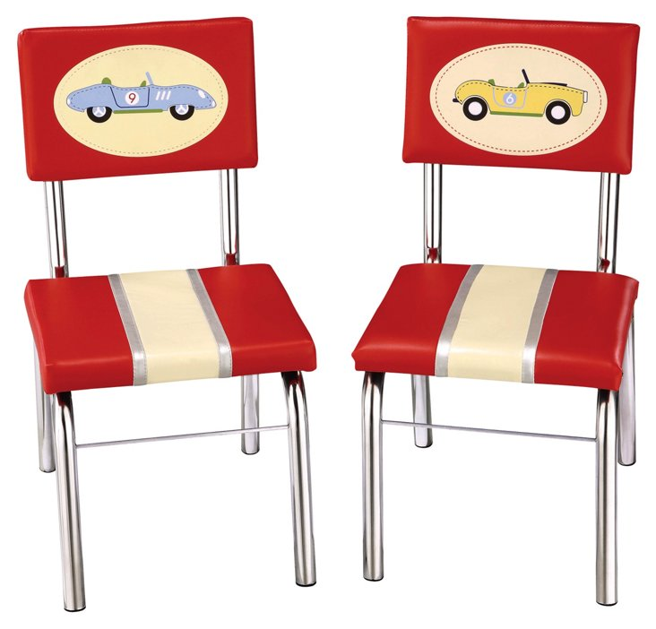 Ollie Retro Chairs