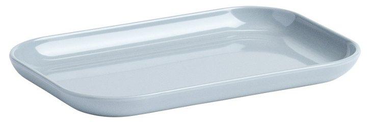 Rectangular Plate, Gray