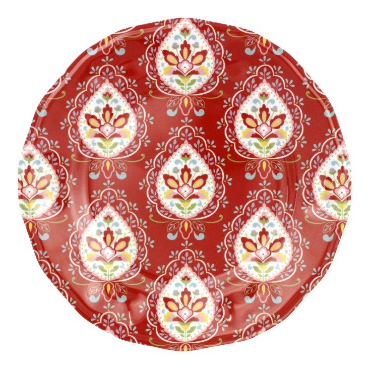 S/4 Melamine Dena Morocco Salad Plates