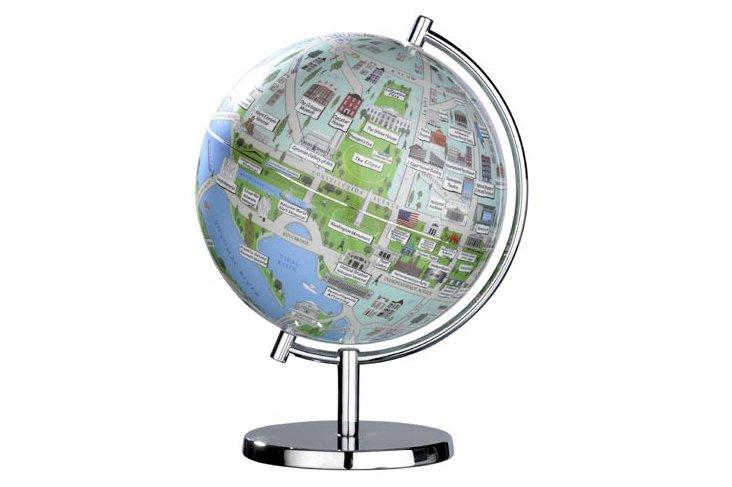 Washington DC 9-inch Globe