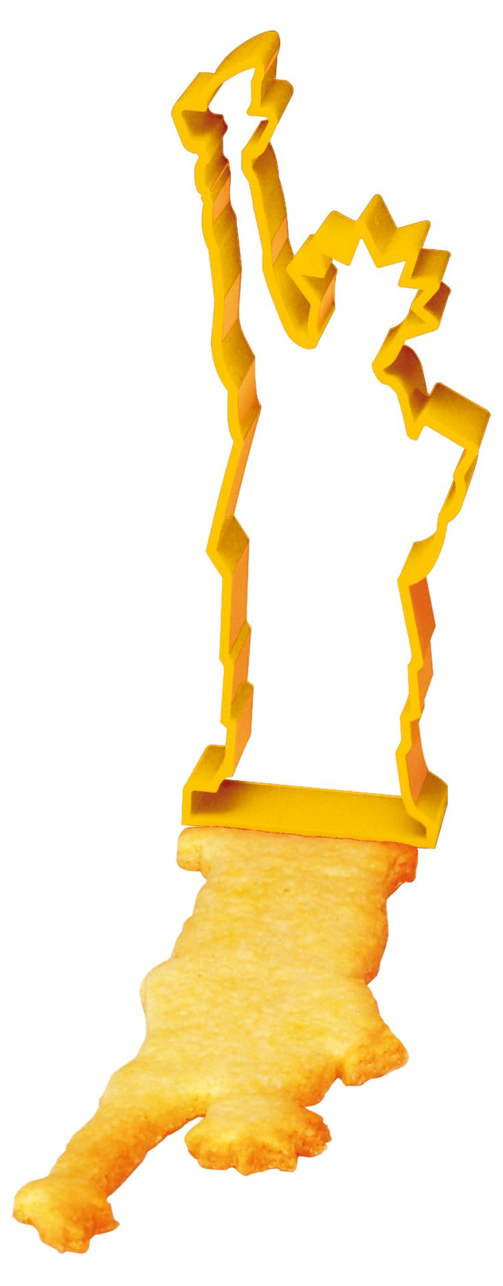S/3 New York Cookie Cutters, Yellow