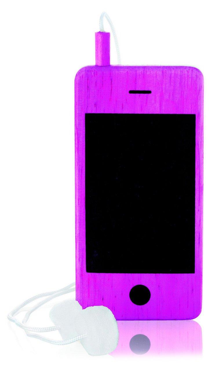 I-Woody Chalkboard Phone, Pink