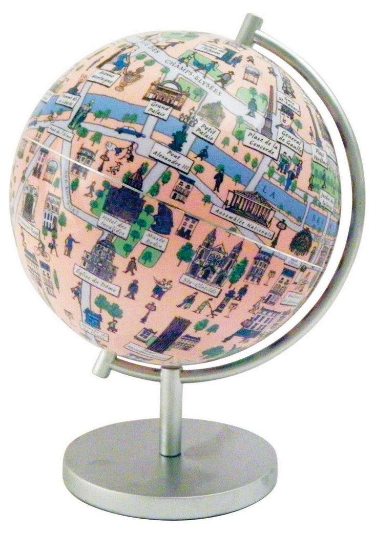 """Paris 6"""" Globe"""
