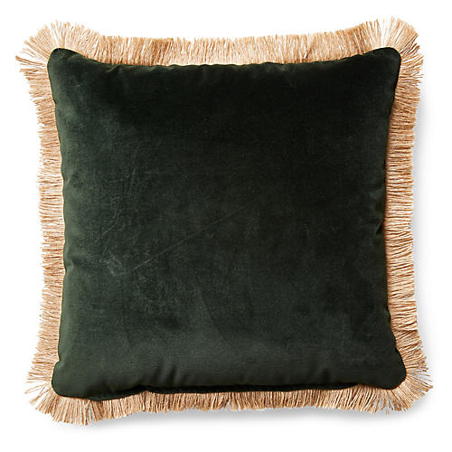 Celeste Pillow, Forest Velvet