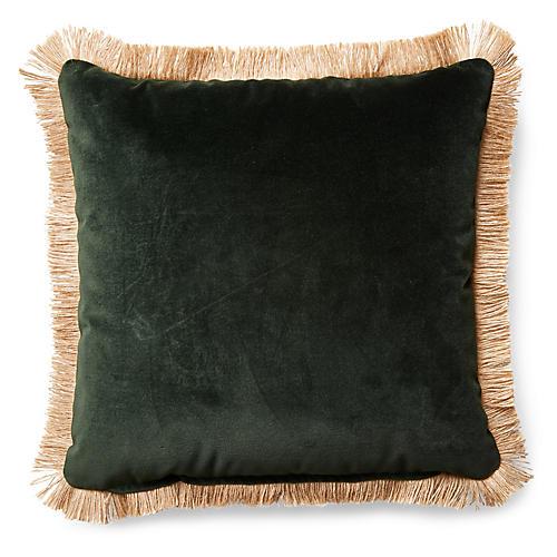Celeste Pillow, Forest Velvet