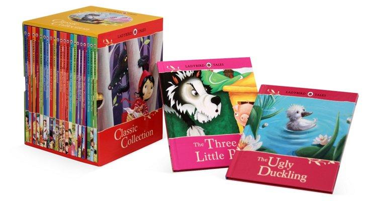 Ladybird 23-Volume Fairytale Classics