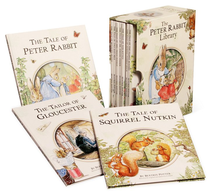 Peter Rabbit 10-Volume Library