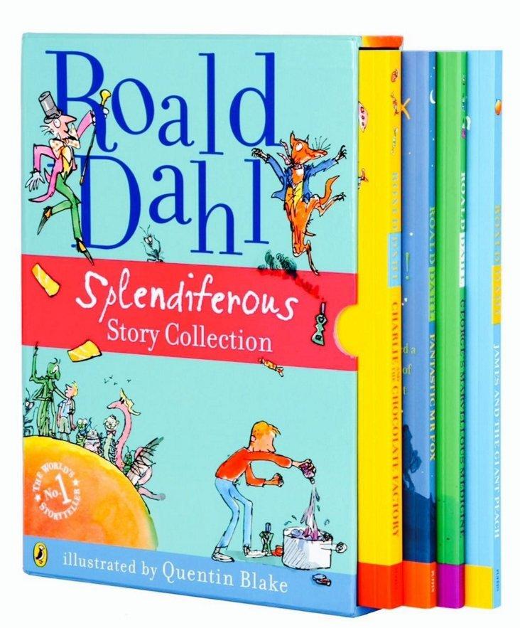 Roald Dahl Splendiferous Story Set