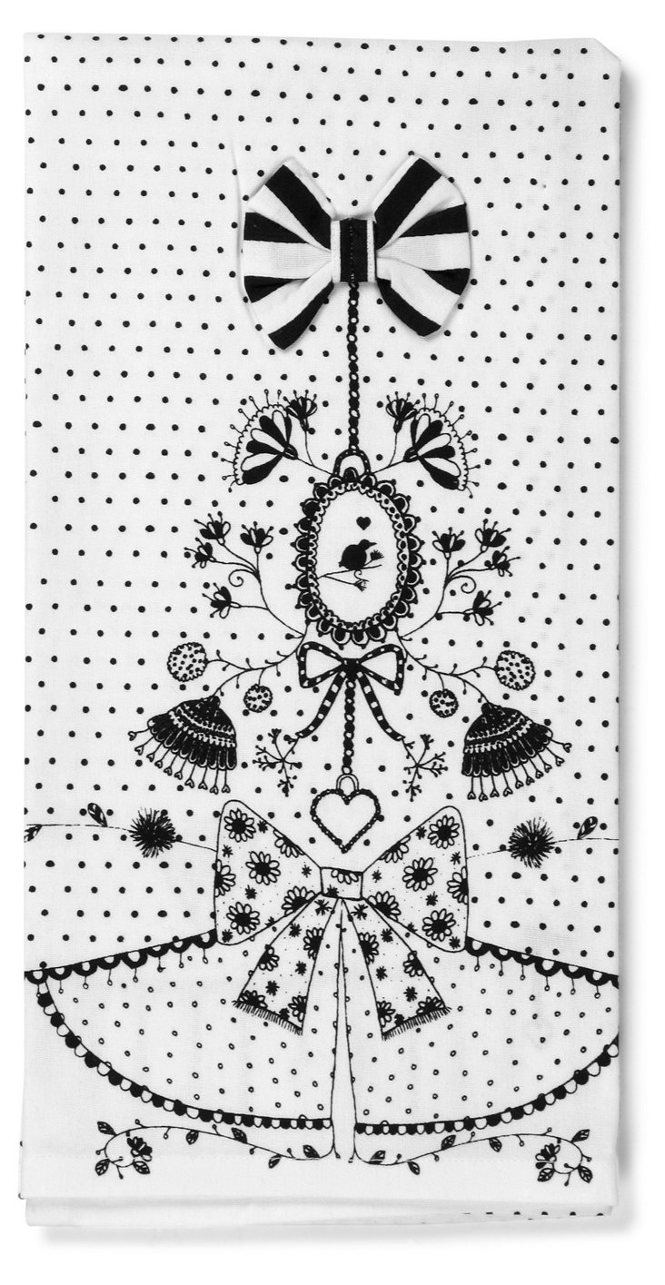 S/2 Ornament Tea Towels