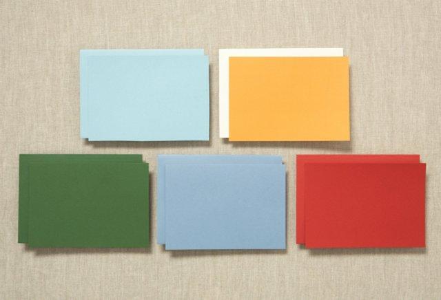 S/50 Vera Wang Solid Color Notes, Set #3