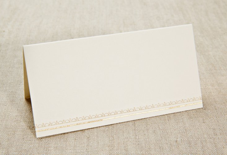 S/20 Engraved Vera Lace Place Cards