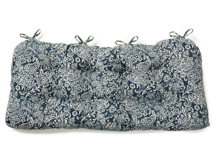 Bonaire Double Cushion, Indigo