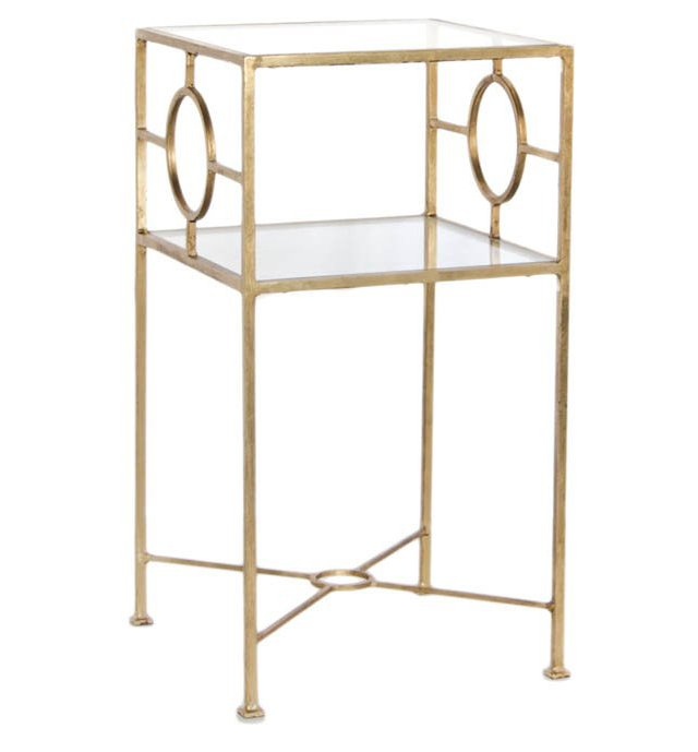 OKL Exclusive Michael Side Table, Gold