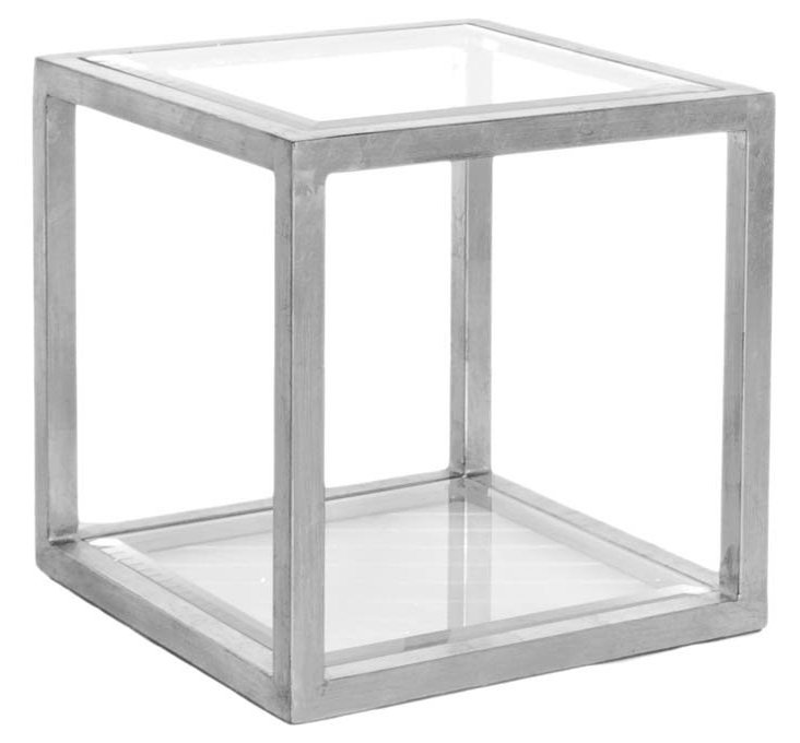 Andrew Side Table, Silver