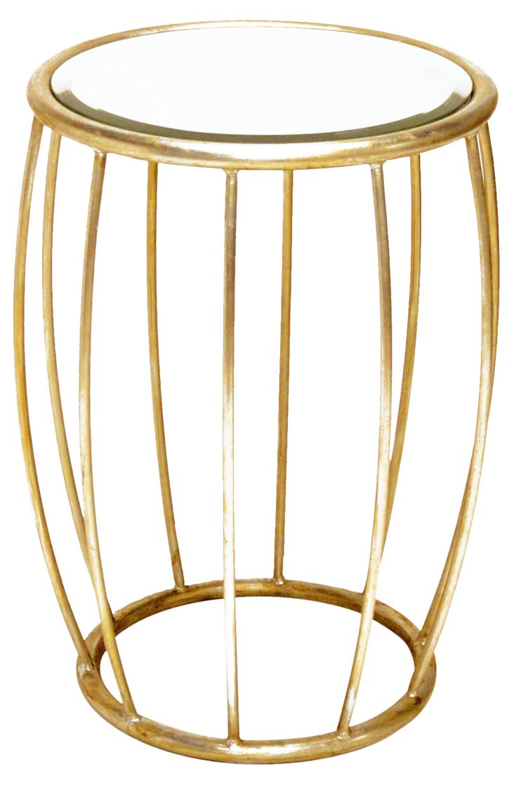 Beatrice Side Table, Gold
