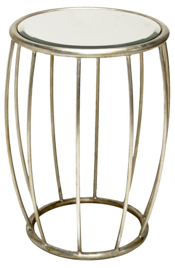 Betty Side Table, Silver