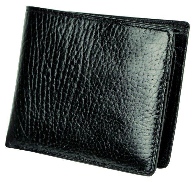 Leather Passcase, Black