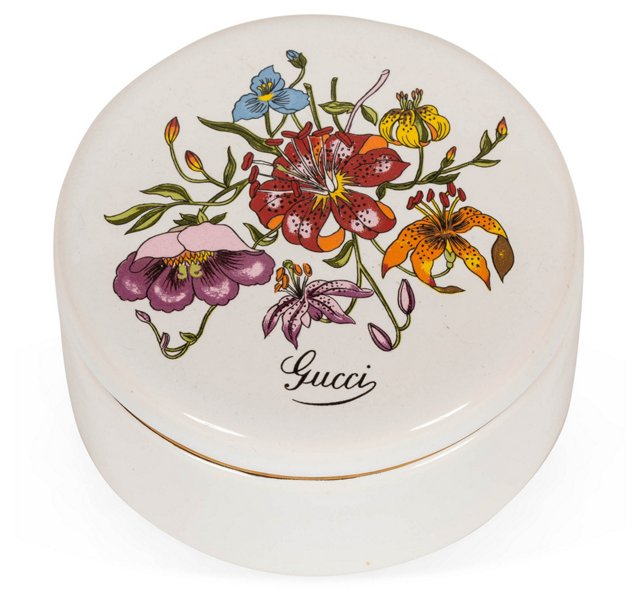 Gucci Porcelain Jewelry Box