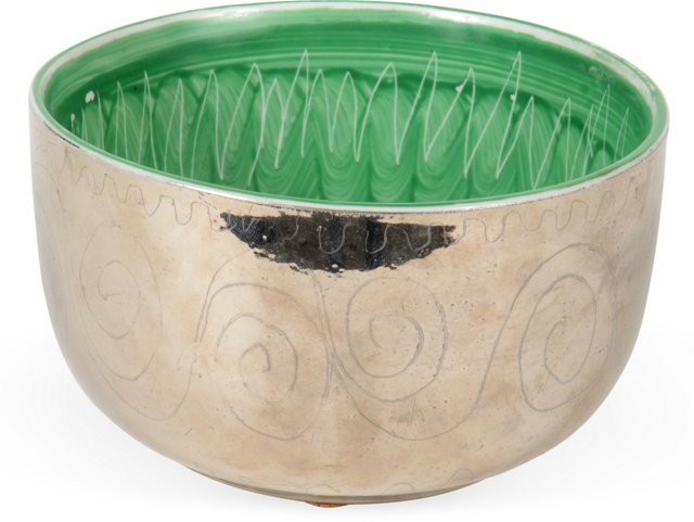 Waylande Gregory Malachite Bowl