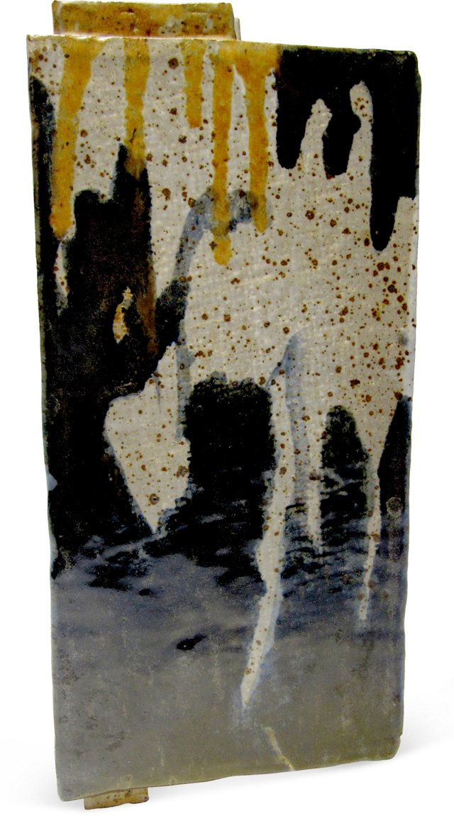 Large Nachtigal Ceramic Vase