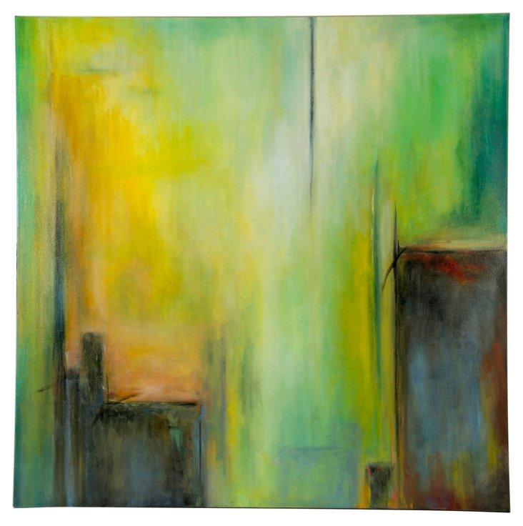Joyce Combs Acrylic Painting