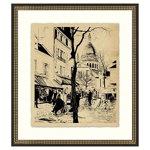 Vintage Parisian Etchings VI