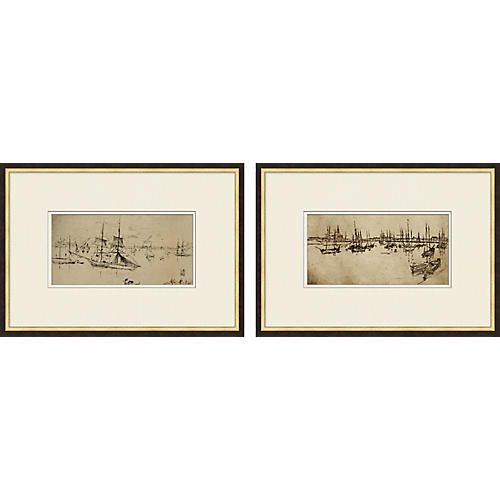 Port View Diptych