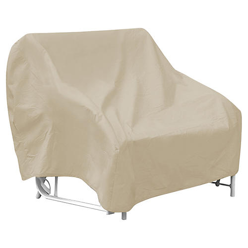 "78"" Three-Seat Glider Cover, Tan"