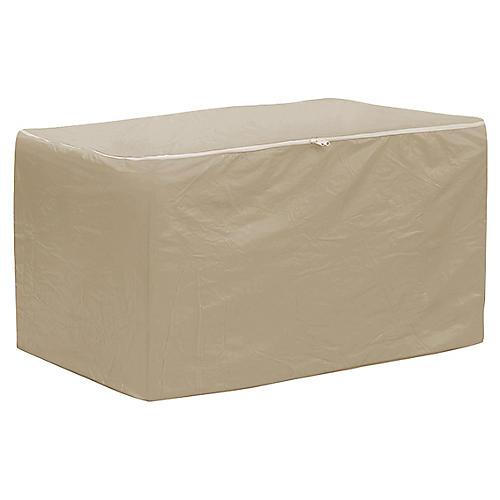 """48"""" Chair Cushion Storage Bag, Tan"""