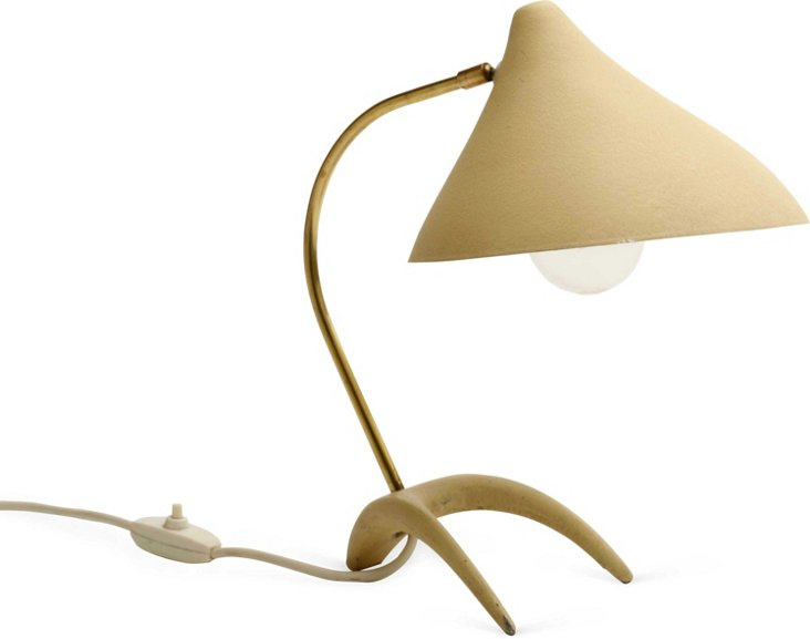 Small 1950s Desk Lamp II