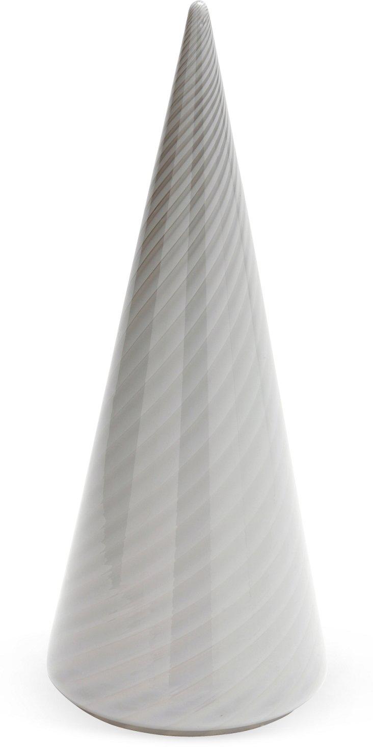 Murano Glass Cone Lamp