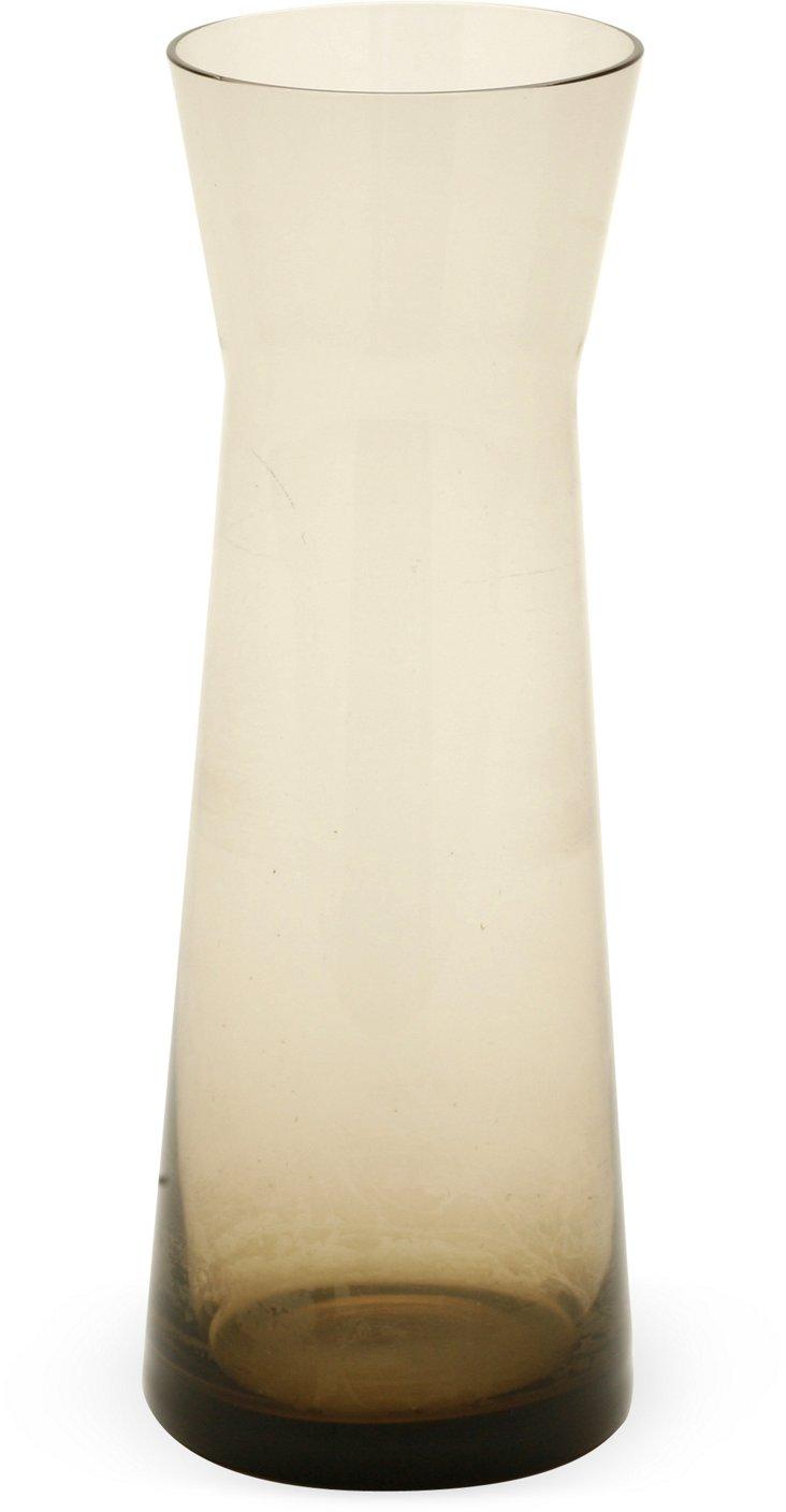 Holmegaard Smoke Glass Vase