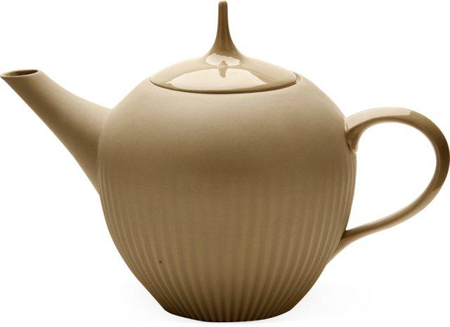 Large Teapot, Sand