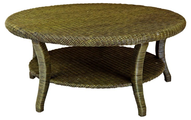 Lido Coffee Table, Moss