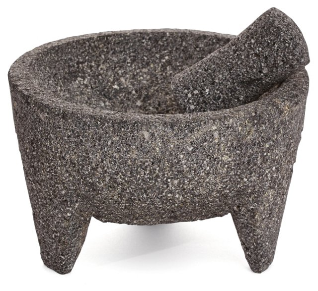 Lava Stone Mortar & Pestle