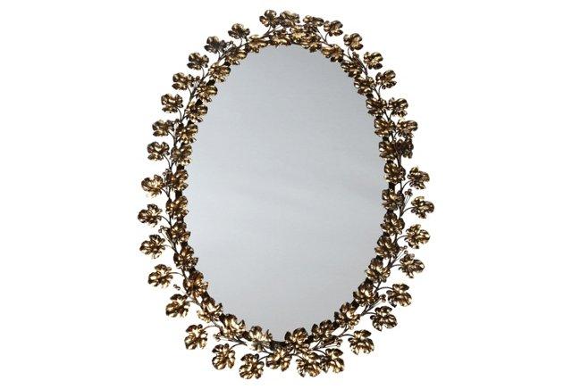Clara Antiqued Mirror