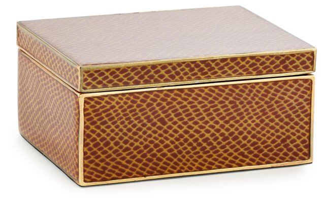 Large Accessories Box, Brown