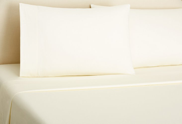 Sateen Sheet Set, Ivory