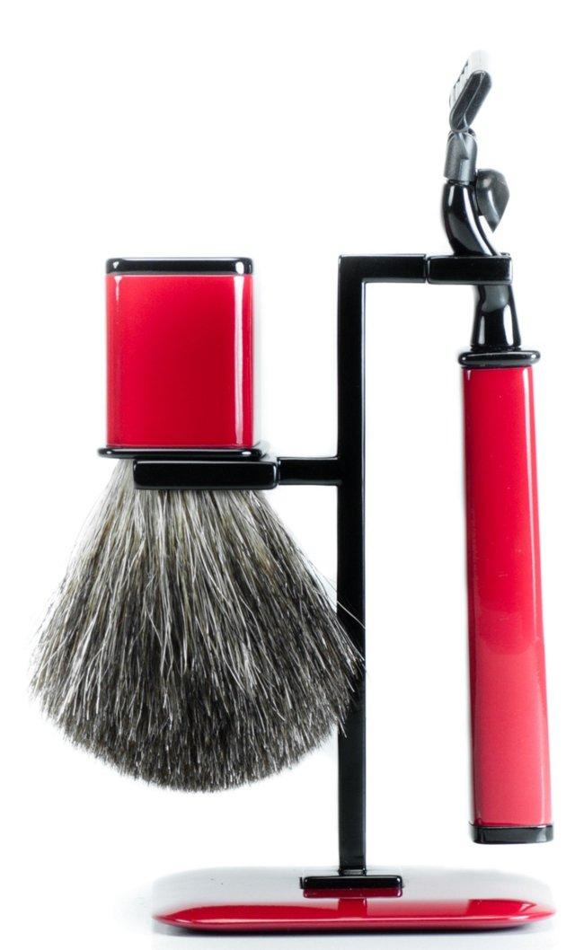 Axwell USA Shaving Set RBS Series, Red