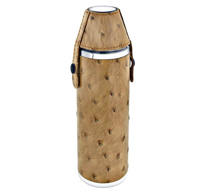 Leather Hunter's Flask