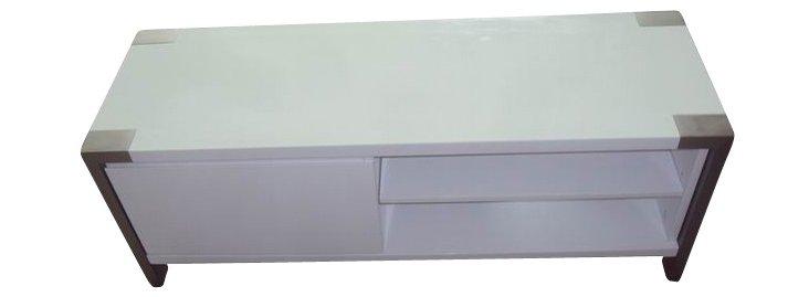 Laurel TV Table, White
