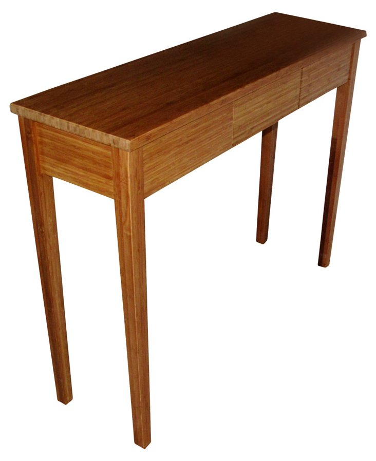 Perth Console Table, Bamboo