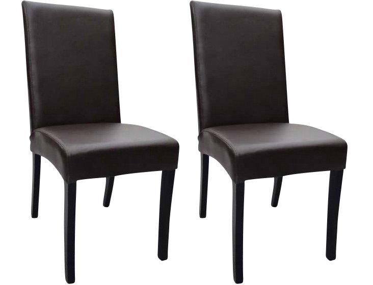 DNU, O-Espresso Shantou Chairs, Pair