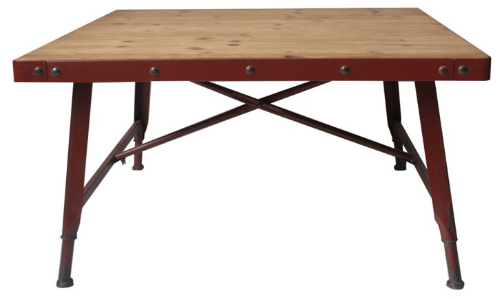 Harvard Coffee Table, Red
