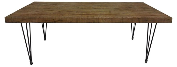 "Clara 81"" Dining Table, Natural"