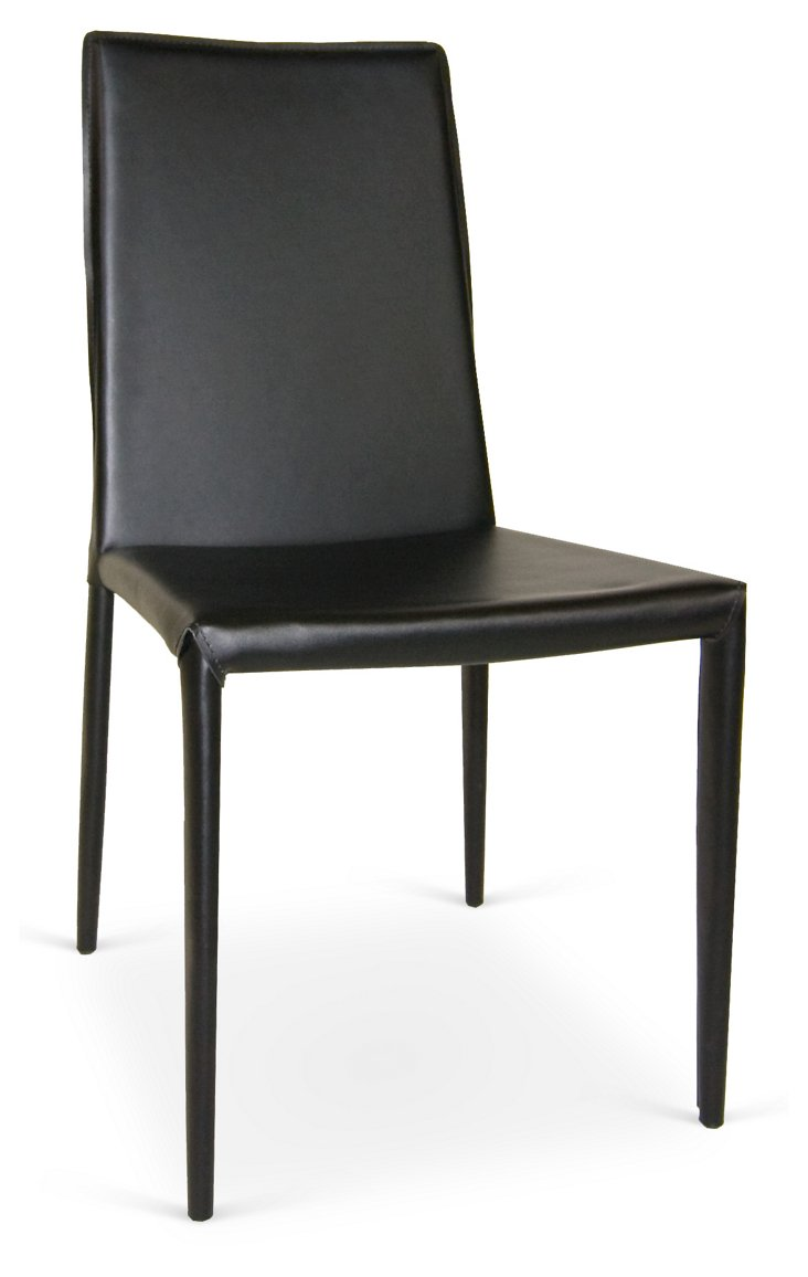 Black Ghriskey Dining Chairs, Pair