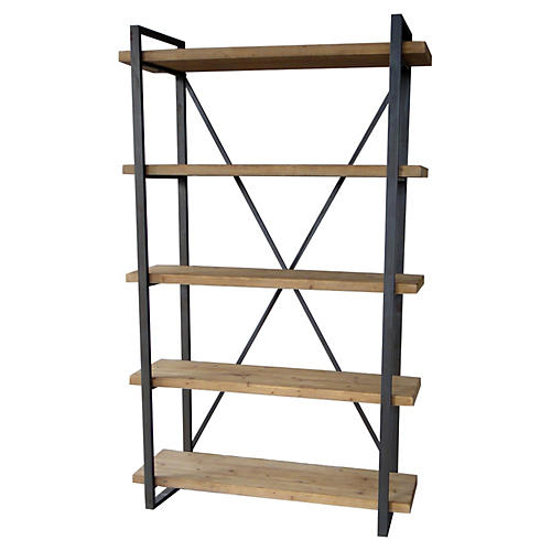 Lex 5-Level Shelf, Natural
